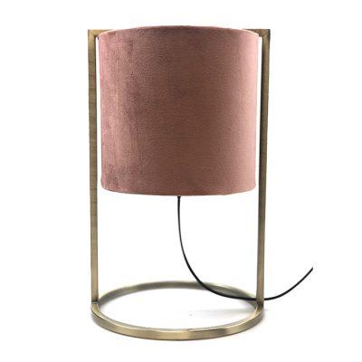 Lampenvoet+ Roze lampen kamp