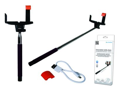 Bluetooth selfiestick selfie  bluetooth  selfiestick  uitschuifbaar