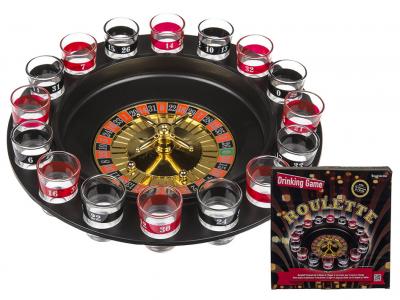 Drinking Roulette drinking  roulette  gokken  drank  shooter  kado  kado's  cadeau  cadeaus  gift  gifts  gadget  gadgets  voor haar  voor vrouw  voor hem  voor man