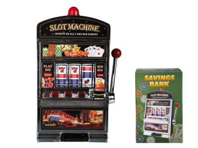 Spaarpot Slotmachine Saving bank  spaarpot  slotmachine