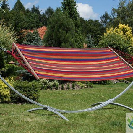 Luxe rode hangmat met standaard hangmat  luieren  hammock